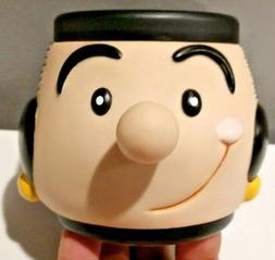 1990s Olive Oil 8oz Plastic Mug Cup King Features Syndicate