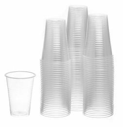 7 oz Clear Plastic Disposable Drinking Cups 100 count