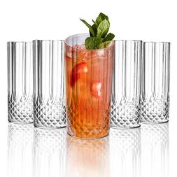 Disposable Crystal Cut Plastic Glasses Fancy Cups Wedding Pa